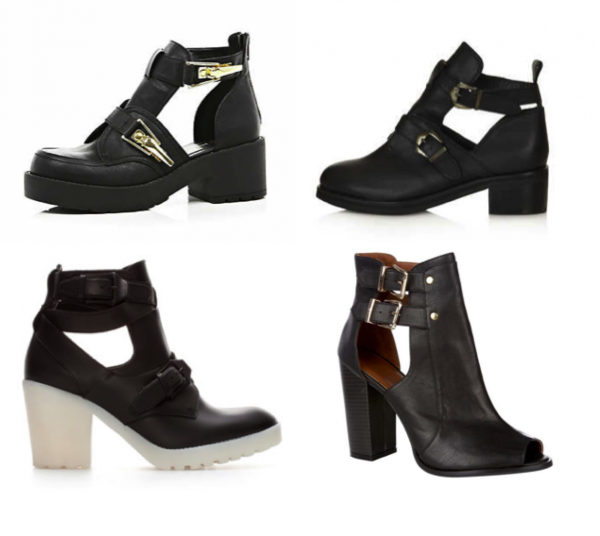 how to wear cut out boots in winter