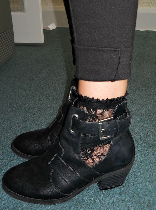 Cut Out Boots 1