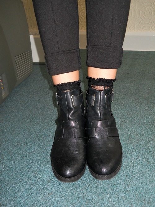 Cut Out Boots 2