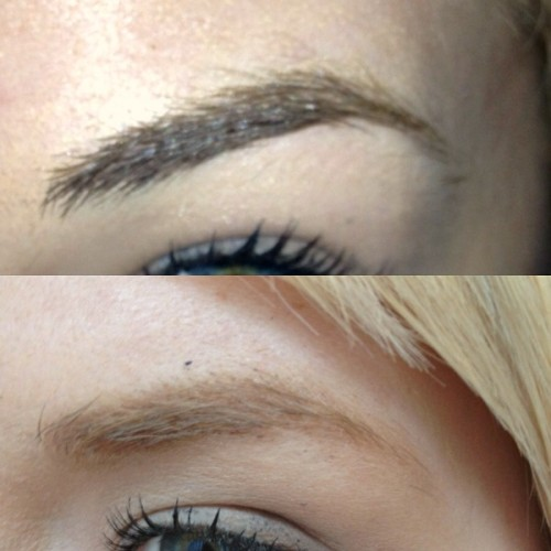 Eyebrows Bleaching 1