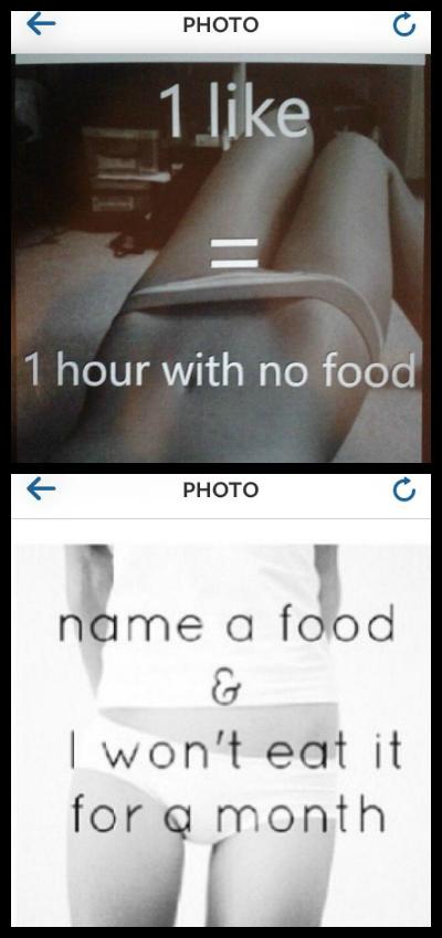 Instagram Anorexia Pics