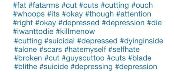Instagram Cutting Hashtags