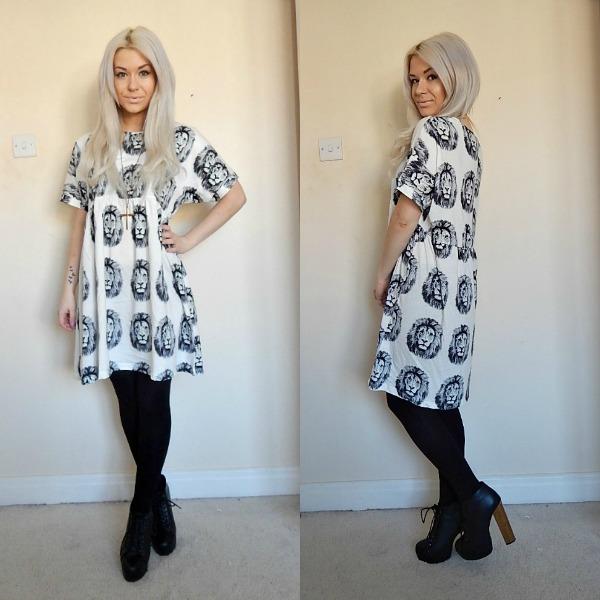 Fashion Blogger Smock Dress