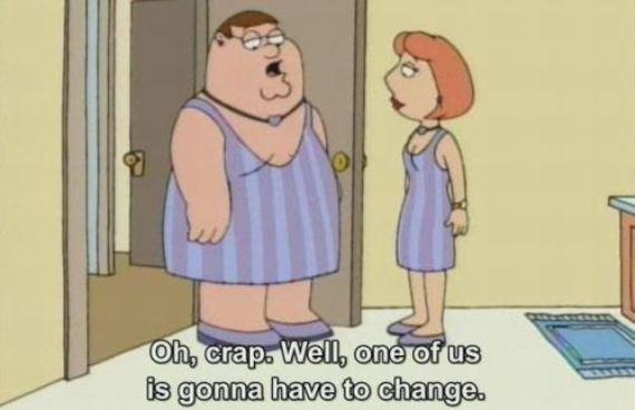 Family guy You must change