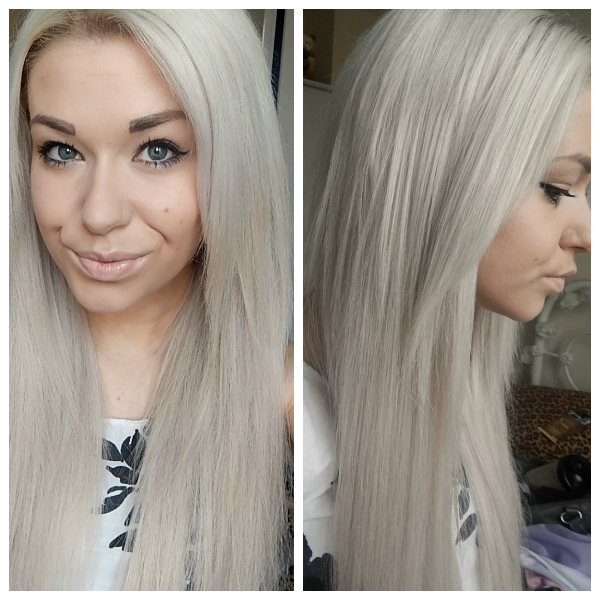 Beauty Works Silver Hair Extensions