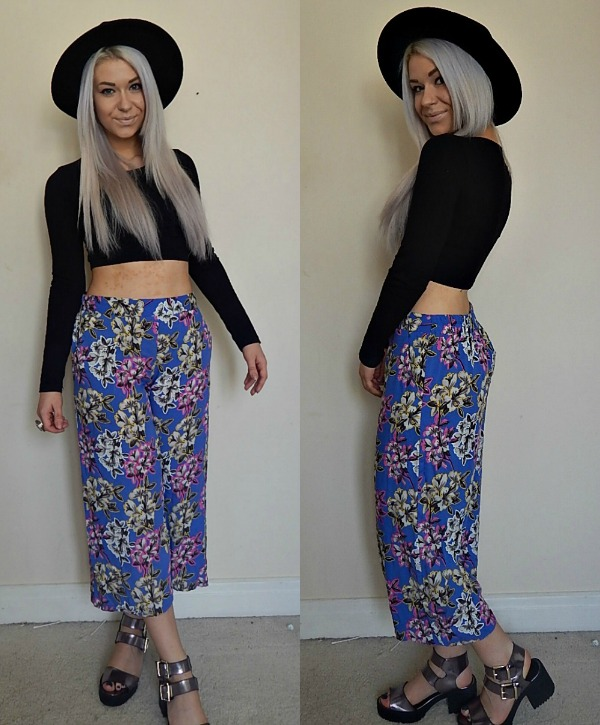 OOTD Culottes Collage 1