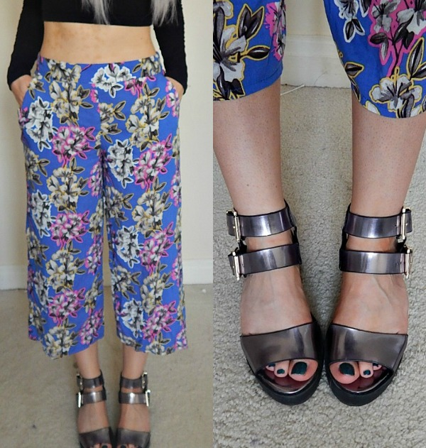 OOTD Culottes Collage 2
