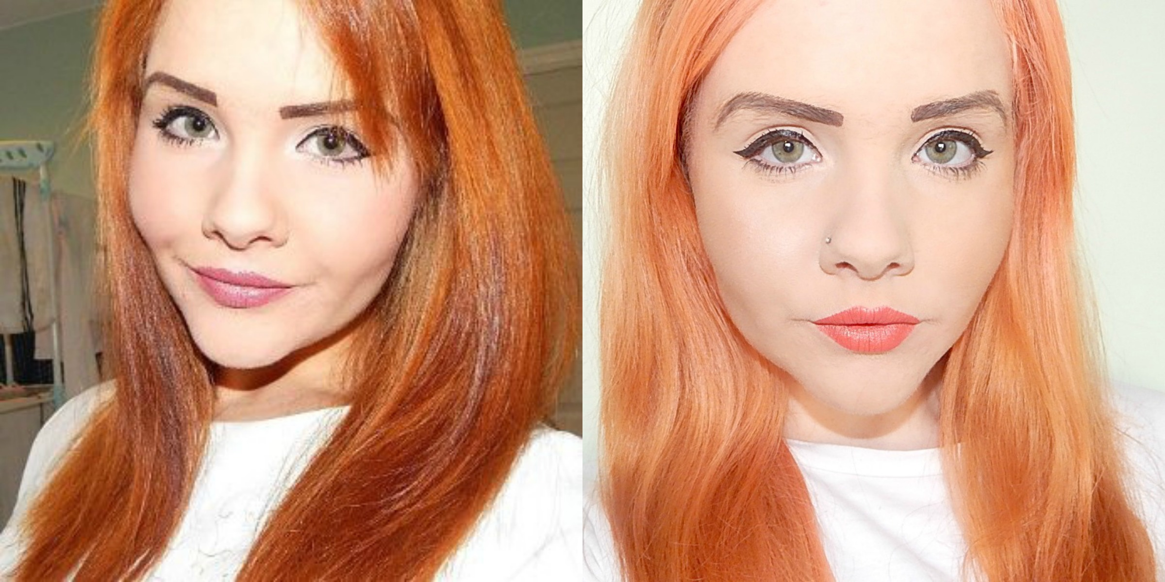 Bleach London Awkward Peach Hair Dye Review Vanity Claire