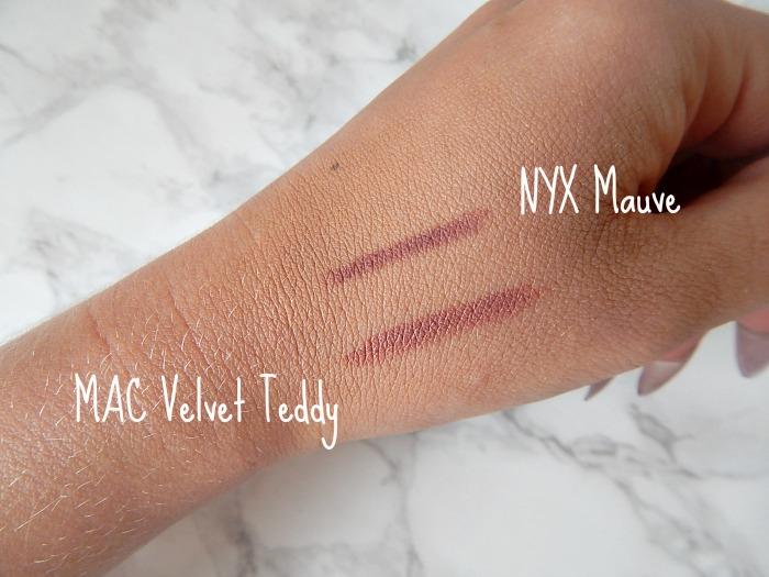 NYX Mauve Swatch