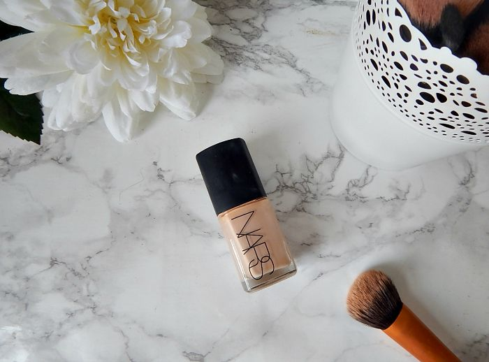 NARS Sheer Glow Foundation Blogger Review