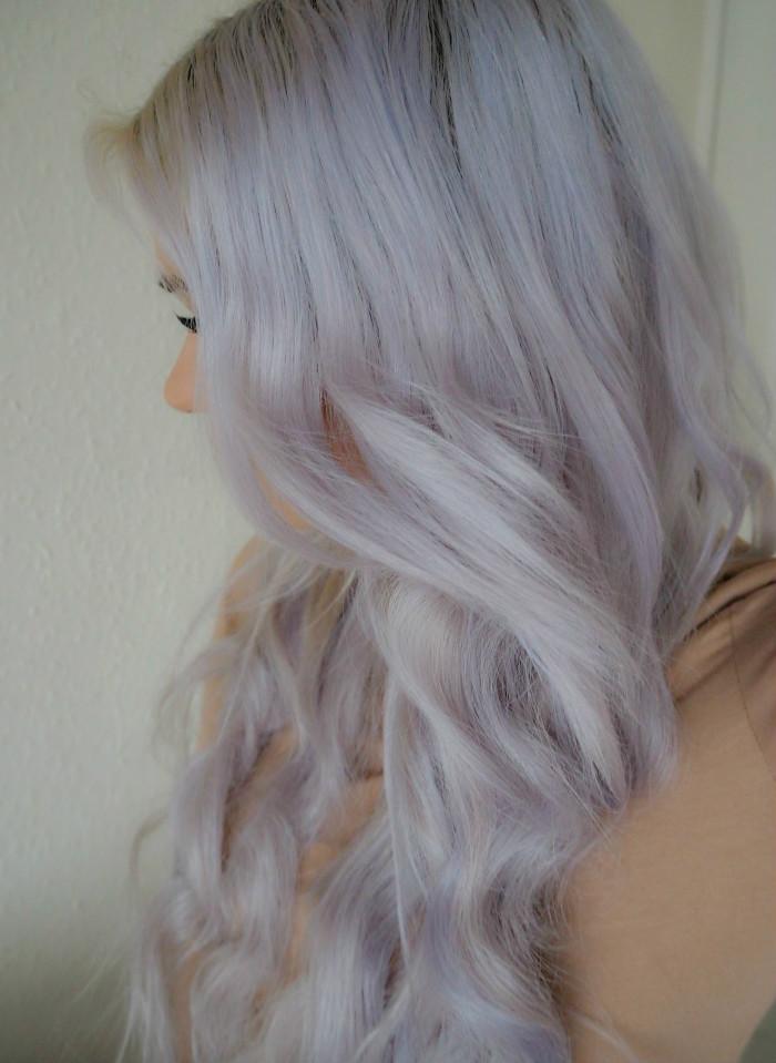 Grey Wavy Hair