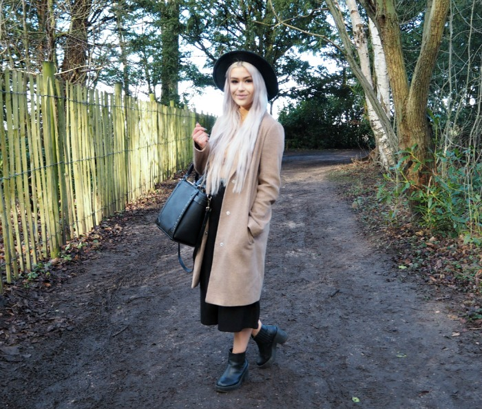 Primark Camel Coat Blogger