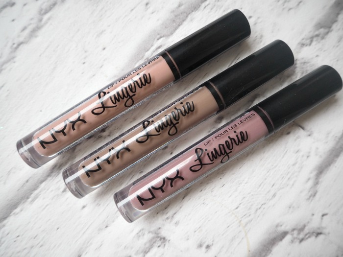 NYX Lingerie Liquid Lipsticks Review