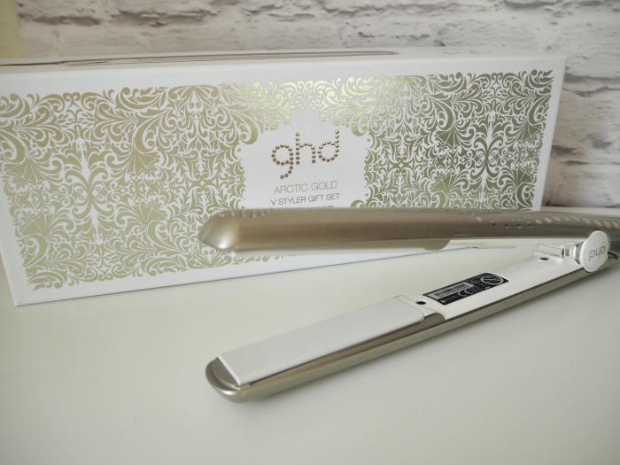 ghd Arctic Gold V Styler Gift Set