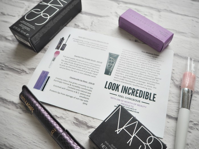 Look Incredible Deluxe Beauty Box Blog Review