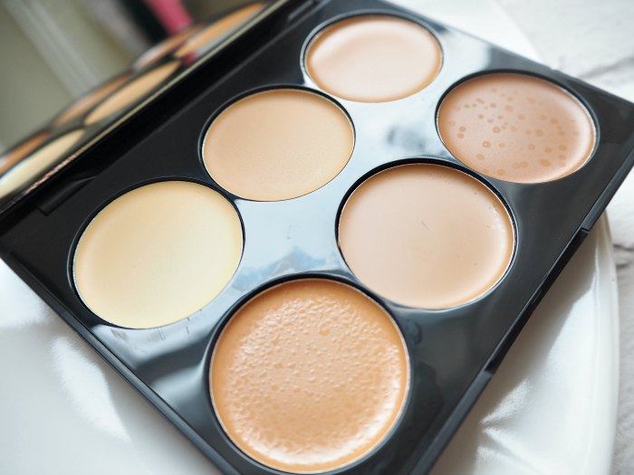 Sleek Cream Contour Kit Medium Close Up