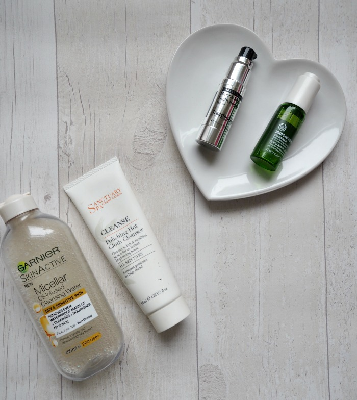 Skincare Routine | Garnier, Sanctuary, Body Shop