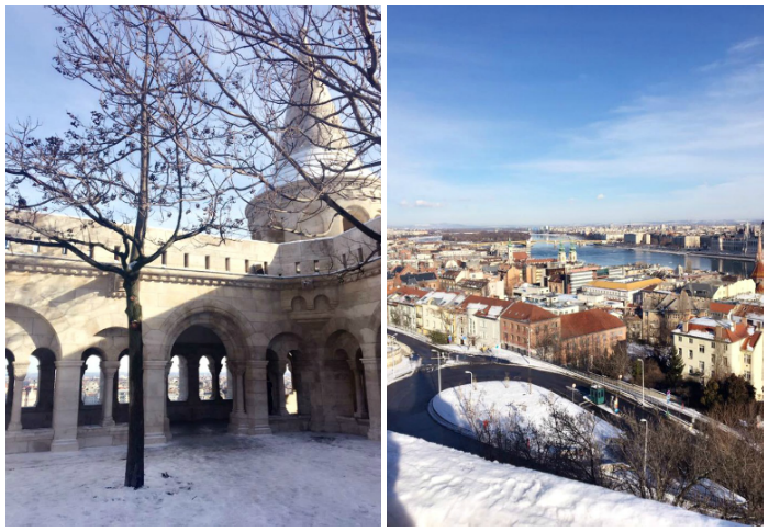 Fishermans Bastion in Winter | Budapest Travel Guide