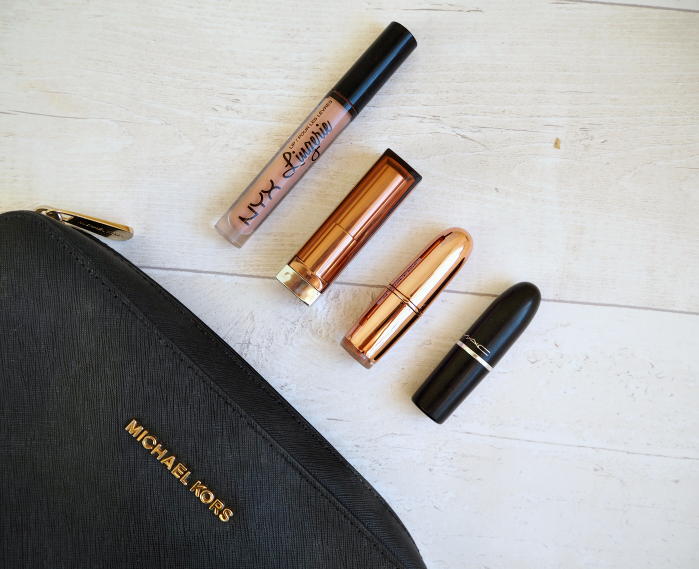 Nude Lipsticks NYX MAC Maybelline Makeup Revolution Review