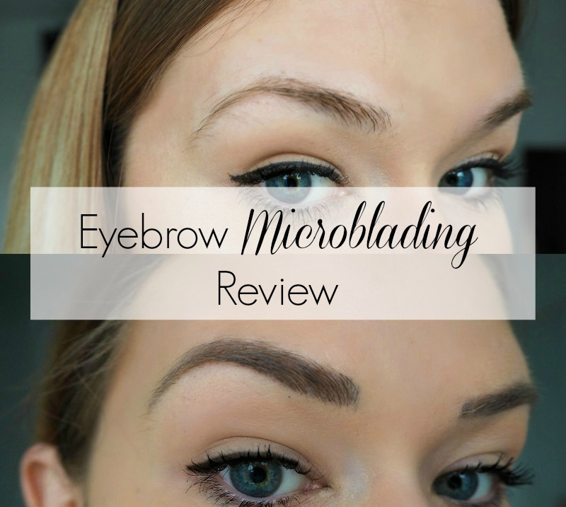 Eyebrow Microblading Blogger Review