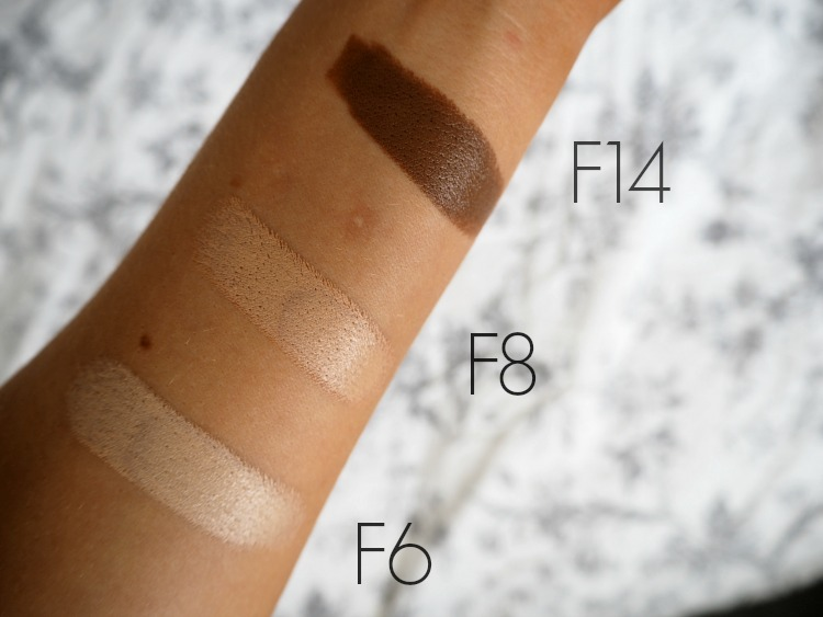 Makeup Revolution Fast Base Foundation Swatch