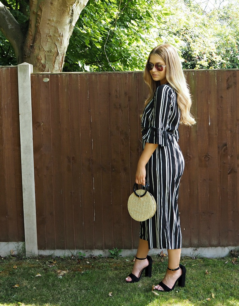 Matalan Striped Petitre Jumpsuit