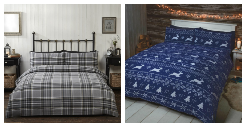Christmas Bedding Collage 1